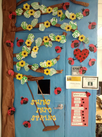 Bulletin Boards Mrs Bishop Lovely Ladybug Teacher